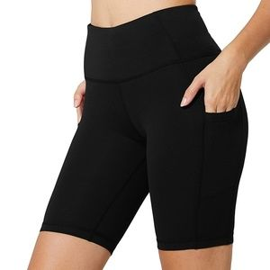 Women Black High Waist Compression Yoga Pants